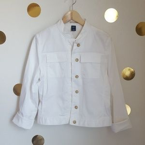 [GAP] Vintage White Jacket